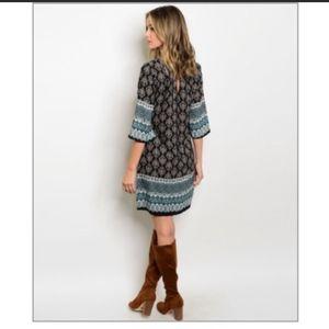 Hallmark Design Shop Boho chic shift dress